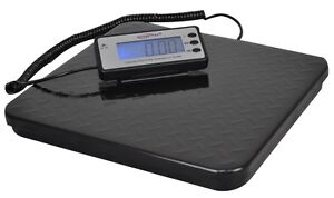 Weighmax Ub840 440 Lb Heavy Duty Digital Shipping Postal Scale Metal Platform