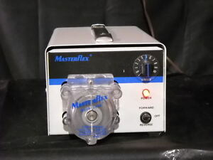 Cole Parmer Masterflex Peristaltic Pump Model 7520 00 With 7021 24 Head