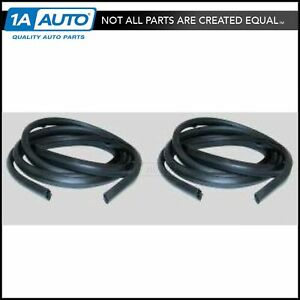 Door Weatherstrip Seal Pair For Ford Bronco 66 67 68 77