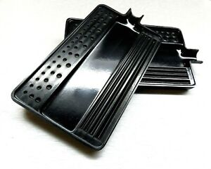 Tray Sorting Plastic Black Tray For Diamonds Beads Gems 2 Pcs Sort Stone Size