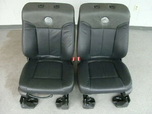 Ford F 150 Harley Davidson Edition Front Seats Heated cooled Leather