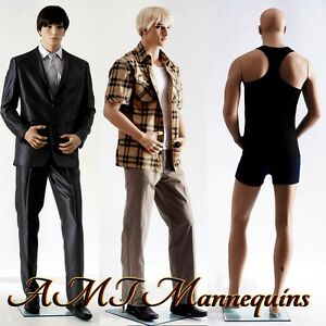 Male Mannequin Display Hand Made Fiber Glass Manikin Mannequin Big Zac