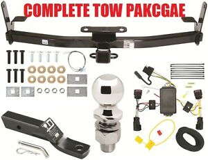 Complete Trailer Hitch Tow Package Trailer Hitch Wiring Kit Ballmount Ball