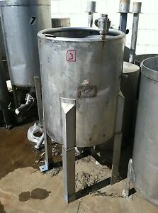 Used 60 Gallon Stainless Steel Tank