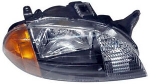 New Replacement Headlight Assembly Rh For 1998 01 Chevrolet Metro