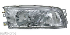 New Replacement Headlight Assembly Rh For 1997 01 Mitsubishi Mirage Sedan