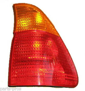 New Replacement Amber T s Taillight Lamp Assembly Rh For 2004 06 Bmw X5