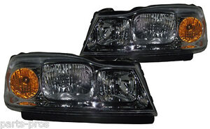 New Replacement Headlight Assembly Pair For 2006 07 Saturn Vue