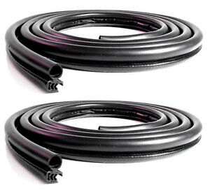 1979 1993 Ford Mustang Gt Lx Convertible New Rubber Door Weatherstrip Seals pair