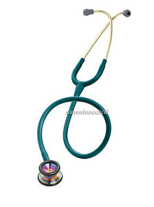 3m Littmann Classic Ii Pediatric Stethoscope Rainbow finish Chestpiece 2153
