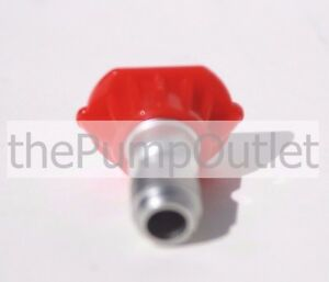 0 Degree Red Pressure Washer Tip 3 5 Orfice By Mi t m Made In America