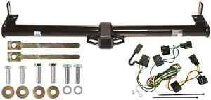 1998 2006 Jeep Wrangler Trailer Hitch W Wiring Kit Class Iii 2 Tow Receiver