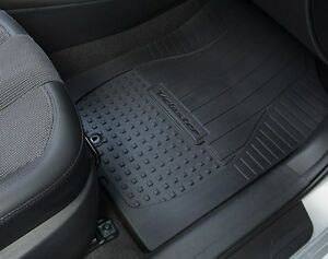 Oe 12 16 Hyundai Veloster All Weather Floor Mats 4 Pc Set Blk 2v013 Adu00