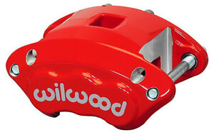 Wilwood D154 2 Piston Brake Caliper Aluminum Gm Metric Rally Off Road 1 1 6 Red