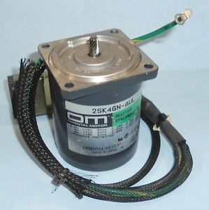 Oriental Motor 100 115vac Reaction Synchronous Motor 2sk4gn aul pzf