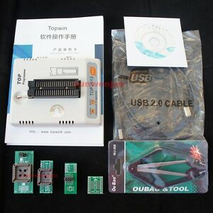 Top 2013 Usb Universal Programmer Bois Eprom Flash Mcu mpu Pic Stc At Sst 93 24c