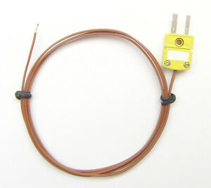 K type Thermocouple For Digital Thermometer High Temperature Wire Sensor Pk 1 1p