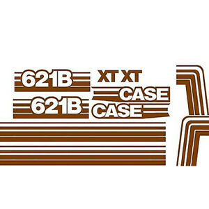 Decal Set For Case Wheel Loader 621b Xt