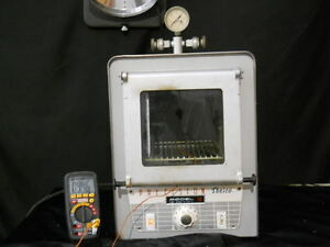 Precision Thelco Model 19 Lab Oven Cat No 31468 Vacuum Oven