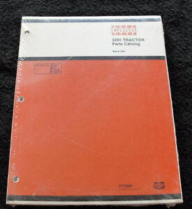 Original 1984 Case David Brown 3294 Tractor Parts Catalog Mint Sealed