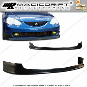 For 02 04 Acura Rsx Dc5 Type R Itr Tr Style Poly Urethane Bumper Front Lip