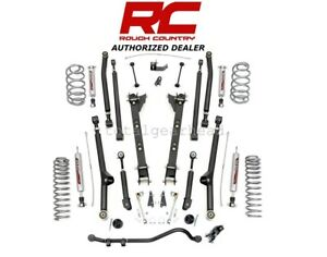 1997 2006 Jeep Wrangler Tj 2 5 Long Arm Suspension Kit Fits 4 Cyl 62822