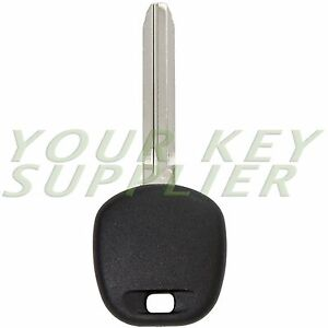 New Uncut Replacement Transponder Ignition Key Toy44g For Toyota 89785 08040