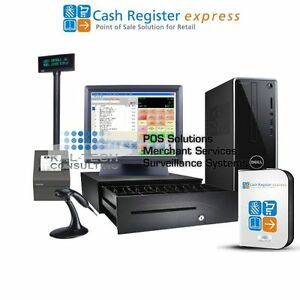 Dell Pcamerica Cre Cash Register Express Pos Retail Version Free Support