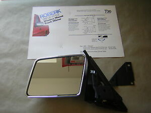 Roberk Mirror 730 Nos Drivers Side Mirror Chevy Truck S 10 S 15 Jimmy 1982 93