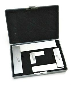 Machinist Square 90 Right Angle Engineer s 3 Set Din Standard 2 4 6 Igaging