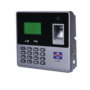 Fingerpirnt Attendance Machine High speed Fingerprint Algorithm No Software Usb