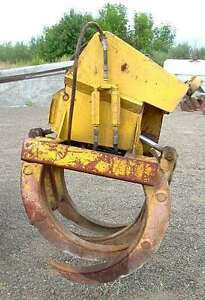 Hydraulic Brush Grapple With Wain roy Top