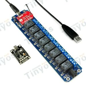 8 Channel Usb wireless 5v Relay Module Wifi Remote Control Kit