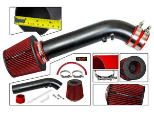 Matte Black Cold Air Intake filter For 96 98 Honda Civic Ek Ej Hx Ex 1 6 L4 Vtec