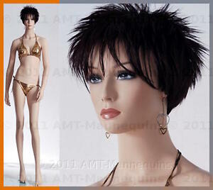 Female Mannequin Display Skin Color Full Body Binkini Beautiful Manikin Cam