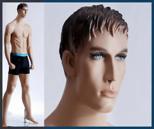 Male Mannequin Display Boxer Man With Fist Hand Made Full Body Manikin Ken