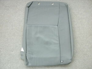 Saab 9 3 Gray Leather Right Rear Seat Back Cover