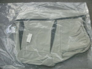 Saab 9 5 Taupe Leather Left Rear Seat Bottom Cover