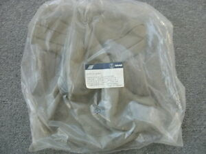 Saab 900 Tan Leather Front Seat Headrest Cover