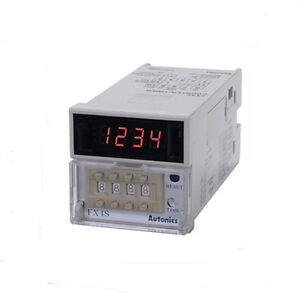 Digital Counter And Timer Fx4s Preset Voltage And No volage Input 100 240v