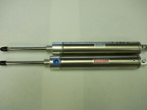 Lot Of Two Rexroth Pneumatic Cylinders M 10rp 30