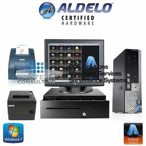 Aldelo 2018 Pro Bar Grill Restaurant Bar Bakery Value Complete Pos System New