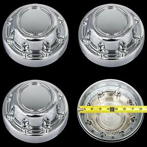 1994 2003 Dodge Ram Truck Van 16 Chrome Wheel Center Hub Caps 8 Lug Rim Covers