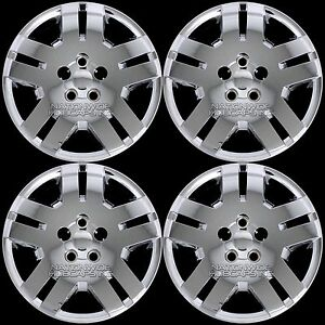 4 Fits Dodge Avenger Caliber 07 14 Chrome 17 Bolt On Hub Caps Rim Wheel Covers