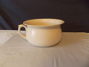 Antique Kensington Ware England Ceramic Porcelain Chamber Pot Cir 1930