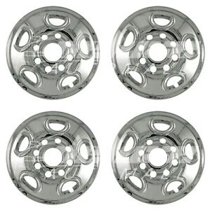 Chrome Wheel Skins 16 For Gmc Yukon Xl Sierra Chevy Silverado Suburban