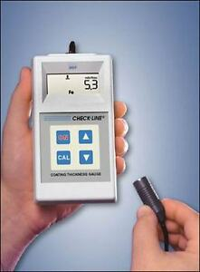 Dcf 900 Coating Thickness Gauges Complete Kit For Ferrous Metal Substrates