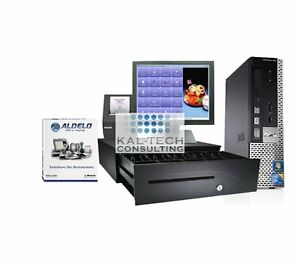 New Aldelo Pro Restaurant Bar Pizza Pos brand New Dell Unlimited Tech Support