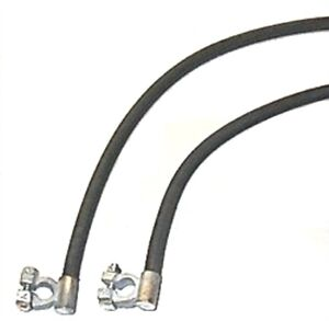 Oe Style Cloth Jacket Battery Cables For 1941 1947 Dodge Plymouth Trucks