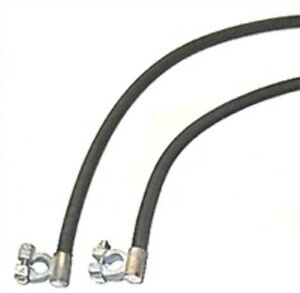 Oe Style Cloth Battery Cables For 1946 1948 Chrysler 8 Cyl